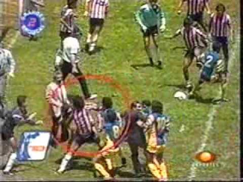 madrizas en el futbol mexicano