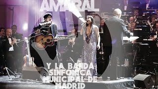 Amaral y la Banda Sinfónica Municipal de Madrid - Teatro Real de Madrid