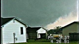 Andover Kansas Tornado 1991 NEW VIDEO