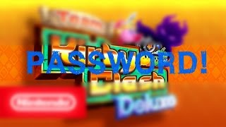 PASSWORD FOR: TEAM KIRBY CLASH DELUXE