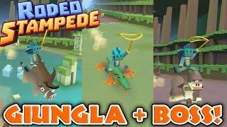 Rodeo Stampede - Andiamo nella giungla + Boss!!