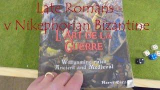 ADLG Late Romans v Byzantine 128 - Virtus 2016 Round 1