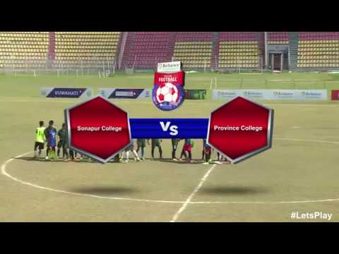 RFYS: Guwahati College Boys - Sonapur College vs Province College Highlights
