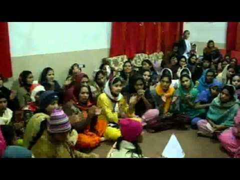 Pastor Mansha M.Gill . Philadelphia Pentecostal Church Of Hyderabad Carol , Rajputana Nursing Hostel