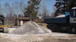 Scania R480 6x2 Unload Gravel