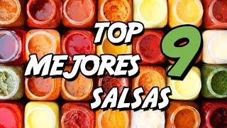 ℗  TOP 9 salsas imprescindibles que debes probar (Recopilatorio)   SuperPilopi