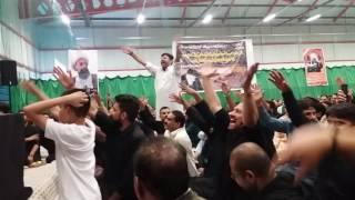 Zakir muntazir mehdi - new qasida - 24th july northampton