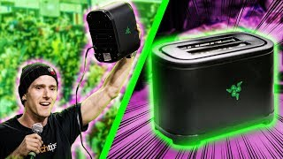 REAL WORKING Razer Toaster UNBOXING & DEMO!