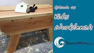 DIY Kid's Workbench // How-To (Ep. 47)