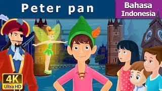 Peter Pan - Cerita Untuk Anak-anak - Animasi Kartun - 4K - Indonesian Fairy Tales