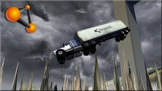 BeamNG Drive Stairway To Hell & Pit Of Death Revisited 900k Thank You