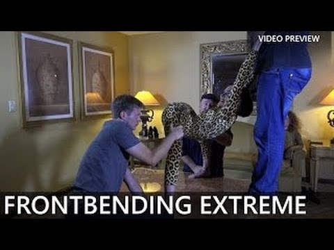 Contortion Flexilady Malina / EXTREME FRONTBENDING