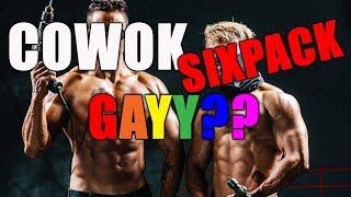 Cowok Sixpack Gay? Betul Gak Sih? Tonton Video ini kalau kamu cowok Normal