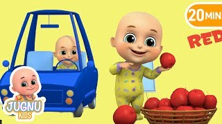 Color Song | Color Learning Song for Kids | Nursery Rhymes from Jugnu Kids