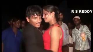 Recording Dance Midnight 2016 Latest Village Hot Telugu