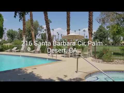 216 Santa Barbara Circle Palm Desert, CA 92260