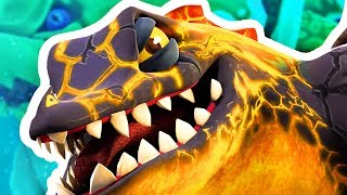 FIRE DRAGON FINDS SECRET WATER MONSTER - Hungry Dragon Gameplay Part 8   Pungence