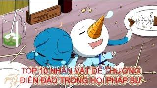 [Fairy Tail] Top 10 nhân vật dễ thương điên đảo trong Hội Pháp Sư
