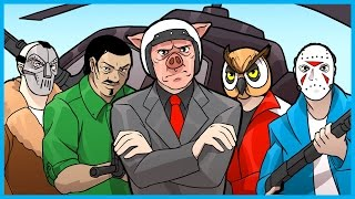 GTA 5 Online Funny Moments Fuccboi INC! - WILDCAT's Company, Nogla's Company, and More!
