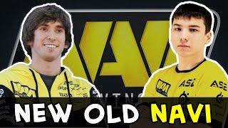 New NaVi first match — Sonneiko is back