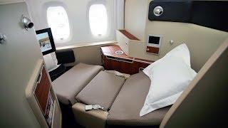 Qantas A380 First Class Dubai to London