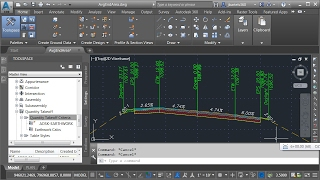 Calculating Average End Area Cut & Fill Volumes using Civil 3D