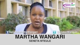 SENATOR MTEULE, MARTHA WANGARE BY CONCEPT FORTY MEDIA PRODUCTION