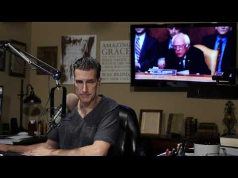 Nice guy Bernie Sanders blows his stack on a Christian who believes Jesus is the only way.