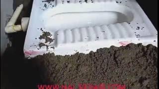 Indian toilet seet kaise lagaye full video