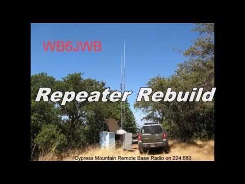 Ham Radio Repeater Rebuild Project