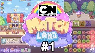 Cartoon Network Matchland | Game Walkthrough #1 | PLAY NOW!