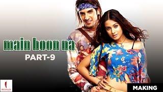 Main Hoon Na | Making | Zayed as Lucky & Amrita as Sanju | Shah Rukh Khan