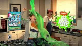 2013 Nickelodeon Kid's Choice Awards promo commercial, featuring Nintendo Mario