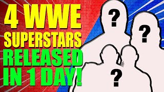 4 WWE SUPERSTARS FIRED IN ONE DAY! MANY More to Come!? Wrestling News!