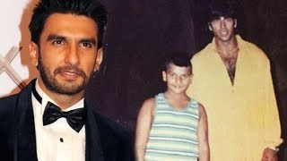 Ranveer Singh RARE CHILDHOOD PIC With Akshay Kumar : CHECK OUT