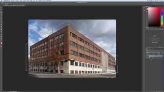 Perspektivní narovnání nebo pokřivení fotografie – Rychlý Tip 4 – Photoshop CZ tutorial