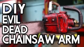 DIY EVIL DEAD CHAINSAW ARM - Erik Builds the Movies #8