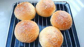 বার্গার বান || বনরুটি || Homemade burger buns || Bun bread || Homemade bun bread recipe