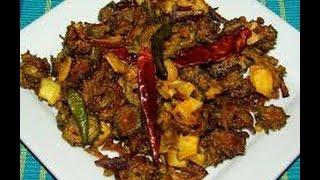 Pavakkai poriyal recipe in tamil/pavakkai fry tamil(பாவக்காய் பொறியல்)