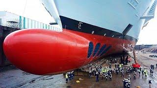 اطول سفن فى العالم تستخدم لنقل اشياء مستحيلة