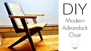 DIY - Modern Adirondack Chairs | Woodworking Project