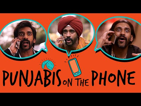 Punjabis On The Phone