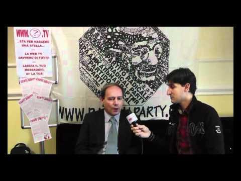 39mo congresso PRNTT - Intervista a Sergio Rovasio