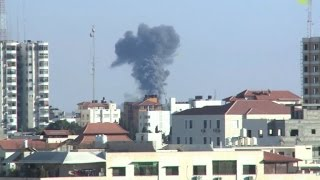 Israel hits Hamas posts after rocket fire from Gaza