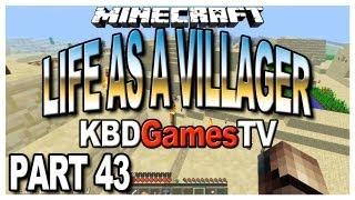 Minecraft - Life as a Villager Part 43 - Saving the 1st Desert Village