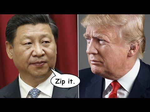 watch China to Trump: Shut Your Big Fucking Mouth