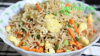 How to prepare Egg Fried rice | A classic Indo-Chinese Rice Recipe