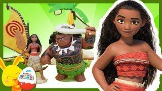 Histoire de Vaiana et Maui avec Touni - Touni Toys - Titounis