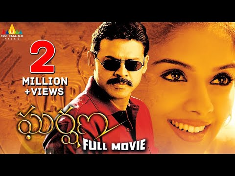 Gharshana Telugu Full Movie | Latest Telugu Full Movies | Venkatesh, Asin, Gautham Menon