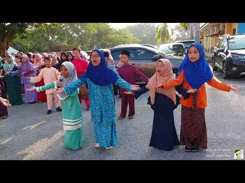 Lebaran di SK Teluk Ketapang : Lagu Syantik Raya | 28-6-2018